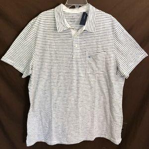NEW AMERICAN EAGLE AE Striped Polo Shirt size 3XL